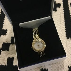 New Seiko gold automatic watch